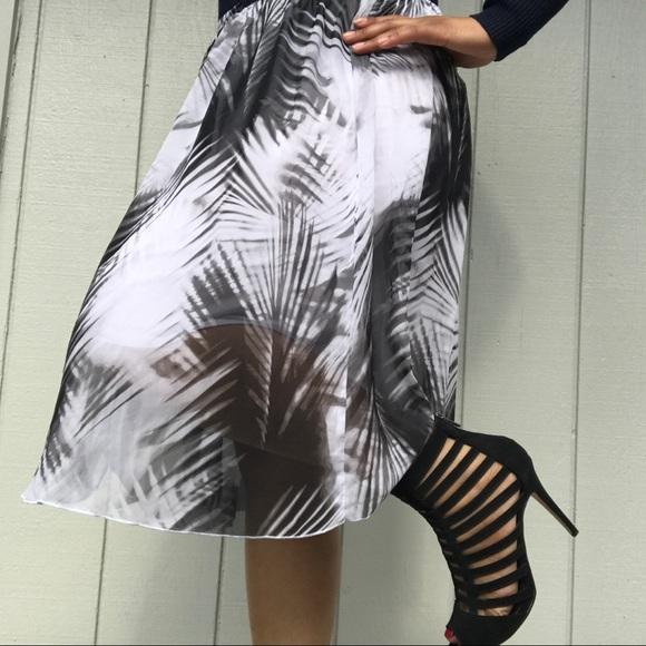 worthington Women's Multi Color Skirt With Zipper